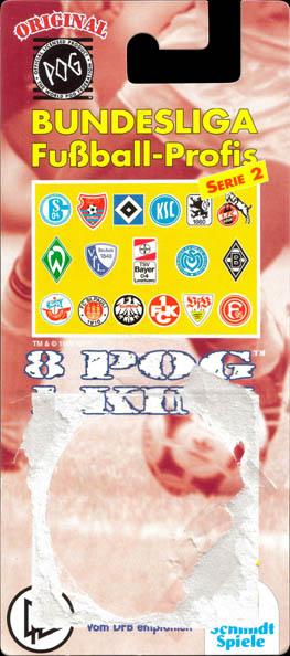 World POG Federation (WPF) > Schmidt > Bundesliga Checklists etc. Bundesliga-Fußball-Profis-Serie-2-Blister-pack-(front).