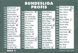 World POG Federation (WPF) > Schmidt > Bundesliga Checklists etc. Bundesliga-Profis-Serie-3.