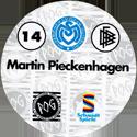 World POG Federation (WPF) > Schmidt > Bundesliga Serie 1 014-MSV-Duisburg-Martin-Pieckenhagen-(back).