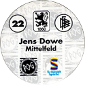 World POG Federation (WPF) > Schmidt > Bundesliga Serie 1 022-TSV-1860-München-Jens-Dowe-Mittelfeld-(back).