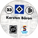 World POG Federation (WPF) > Schmidt > Bundesliga Serie 1 023-Hamburger-SV-Karsten-Bäron-(back).