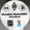 World POG Federation (WPF) > Schmidt > Bundesliga Serie 1 033-Borussia-Mönchengladbach-Christian-Hochstätter-Mittelfeld-(back).