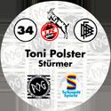 World POG Federation (WPF) > Schmidt > Bundesliga Serie 1 034-1.-FC-Köln-Toni-Polster-Stürmer-(back).