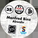 World POG Federation (WPF) > Schmidt > Bundesliga Serie 1 035-Eintracht-Frankfurt-Manfred-Binz-Abwehr-(back).