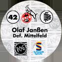 World POG Federation (WPF) > Schmidt > Bundesliga Serie 1 042-1.-FC-Köln-Olaf-Janßen-Def.-Mittelfeld-(back).