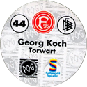World POG Federation (WPF) > Schmidt > Bundesliga Serie 1 044-Fortuna-Düsseldorf-Georg-Koch-Torwart-(back).
