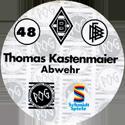 World POG Federation (WPF) > Schmidt > Bundesliga Serie 1 048-Borussia-Mönchengladbach-Thomas-Kastenmaier-Abwehr-(back).