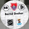 World POG Federation (WPF) > Schmidt > Bundesliga Serie 1 058-KFC-Uerdingen-Bernd-Dreher-(back).