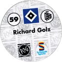 World POG Federation (WPF) > Schmidt > Bundesliga Serie 1 059-Hamburger-SV-Richard-Golz-(back).