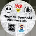 World POG Federation (WPF) > Schmidt > Bundesliga Serie 1 063-VfB-Stuttgart-Thomas-Berthold-Abwehrspieler-(back).