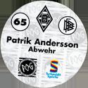 World POG Federation (WPF) > Schmidt > Bundesliga Serie 1 065-Borussia-Mönchengladbach-Patrik-Andersson-Abwehr-(back).