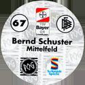 World POG Federation (WPF) > Schmidt > Bundesliga Serie 1 067-Bayer-Leverkusen-Bernd-Schuster-Mittelfeld-(back).