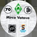 World POG Federation (WPF) > Schmidt > Bundesliga Serie 1 070-Werder-Bremen-Mirco-Votava-(back).