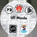 World POG Federation (WPF) > Schmidt > Bundesliga Serie 2 072-FC-St.-Pauli-Uli-Maslo-(back).
