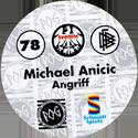 World POG Federation (WPF) > Schmidt > Bundesliga Serie 2 078-Eintracht-Frankfurt-Michael-Anicic-Angriff-(back).