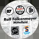 World POG Federation (WPF) > Schmidt > Bundesliga Serie 2 087-Eintracht-Frankfurt-Ralf-Falkenmayer-Mittelfeld-(back).