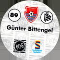 World POG Federation (WPF) > Schmidt > Bundesliga Serie 2 089-KFC-Uerdingen-Günter-Bittengel-(back).