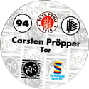 World POG Federation (WPF) > Schmidt > Bundesliga Serie 2 094-FC-St.-Pauli-Carsten-Pröpper-Tor-(back).