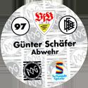 World POG Federation (WPF) > Schmidt > Bundesliga Serie 2 097-VfB-Stuttgart-Günter-Schäfer-Abwehr-(back).