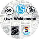 World POG Federation (WPF) > Schmidt > Bundesliga Serie 2 099-FC-Schalke-04-Uwe-Weidermann-(back).