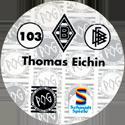 World POG Federation (WPF) > Schmidt > Bundesliga Serie 2 103-Borussia-Mönchengladbach-Thomas-Eichin-(back).
