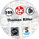 World POG Federation (WPF) > Schmidt > Bundesliga Serie 2 105-1.-FCK-Thomas-Ritter-(back).