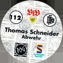 World POG Federation (WPF) > Schmidt > Bundesliga Serie 2 112-VfB-Stuttgart-Thomas-Schneider-Abwehr-(back).