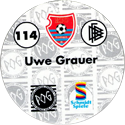 World POG Federation (WPF) > Schmidt > Bundesliga Serie 2 114-KFC-Uerdingen-Uwe-Grauer-(back).