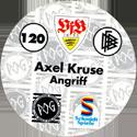 World POG Federation (WPF) > Schmidt > Bundesliga Serie 2 120-VfB-Stuttgart-Axel-Kruse-Angriff-(back).