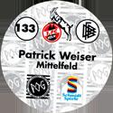 World POG Federation (WPF) > Schmidt > Bundesliga Serie 2 133-1.-FC-Köln-Patrick-Weiser-Mittelfeld-(back).