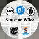 World POG Federation (WPF) > Schmidt > Bundesliga Serie 3 143-Karlsruher-SC-Christian-Wück-(back).