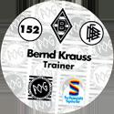 World POG Federation (WPF) > Schmidt > Bundesliga Serie 3 152-Borussia-Mönchengladbach-Bernd-Krauss-Trainer-(back).
