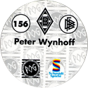 World POG Federation (WPF) > Schmidt > Bundesliga Serie 3 156-Borussia-Mönchengladbach-Peter-Wynhoff-(back).