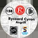 World POG Federation (WPF) > Schmidt > Bundesliga Serie 3 158-Fortuna-Düsseldorf-Ryszard-Cyron-Angriff-(back).