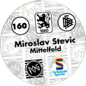 World POG Federation (WPF) > Schmidt > Bundesliga Serie 3 160-TSV-1860-München-Miroslav-Stevic-Mittelfeld-(back).