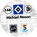 World POG Federation (WPF) > Schmidt > Bundesliga Serie 3 168-Hamburger-SV-Michael-Mason-(back).