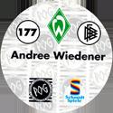 World POG Federation (WPF) > Schmidt > Bundesliga Serie 3 177-Werder-Bremen-Andree-Wiedener-(back).