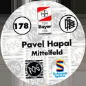 World POG Federation (WPF) > Schmidt > Bundesliga Serie 3 178-Bayer-Leverkusen-Pavel-Hapal-Mittelfeld-(back).