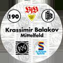 World POG Federation (WPF) > Schmidt > Bundesliga Serie 3 190-VfB-Stuttgart-Krassimir-Balakov-Mittelfeld-(back).