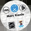 World POG Federation (WPF) > Schmidt > Bundesliga Serie 3 192-MSV-Duisburg-Marc-Kienle-(back).