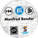 World POG Federation (WPF) > Schmidt > Bundesliga Serie 3 194-Karlsruher-SC-Manfred-Bender-(back).