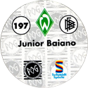 World POG Federation (WPF) > Schmidt > Bundesliga Serie 3 197-Werder-Bremen-Junior-Baiano-(back).