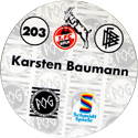 World POG Federation (WPF) > Schmidt > Bundesliga Serie 3 203-1.-FC-Köln-Karsten-Baumann-(back).