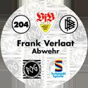 World POG Federation (WPF) > Schmidt > Bundesliga Serie 3 204-VfB-Stuttgart-Frank-Verlaat-Abwehr-(back).