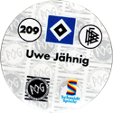 World POG Federation (WPF) > Schmidt > Bundesliga Serie 3 209-Hamburger-SV-Uwe-Jähning-(back).