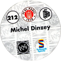 World POG Federation (WPF) > Schmidt > Bundesliga Serie 4 212-FC-St.-Pauli-Michel-Dinzey-(back).