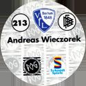 World POG Federation (WPF) > Schmidt > Bundesliga Serie 4 213-VfL-Bochum-Andreas-Wieczorek-(back).