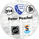 World POG Federation (WPF) > Schmidt > Bundesliga Serie 4 214-VfL-Bochum-Peter-Peschel-(back).