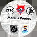 World POG Federation (WPF) > Schmidt > Bundesliga Serie 4 216-KFC-Uerdingen-Marcus-Wedau-(back).