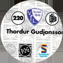 World POG Federation (WPF) > Schmidt > Bundesliga Serie 4 220-VfL-Bochum-Thordur-Gudjonsson-(back).